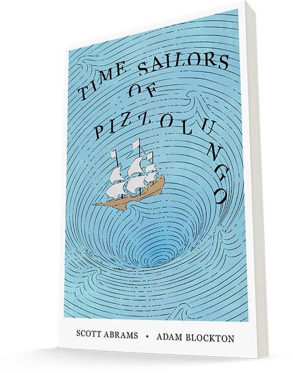 Time Sailors of Pizzolungo Book Illustration